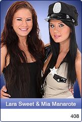 Mia Manarote and Rita help each other undress before lesbian sex № 665578 бесплатно