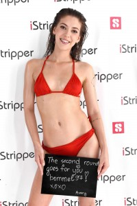istripper fansign Avery take 2
