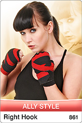 Ally Style show a0861 Right hook