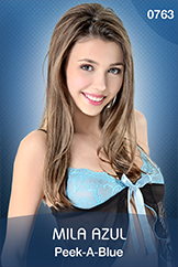 Mila Azul for istripper