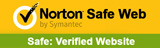 Norton Safe Web Trusted Website